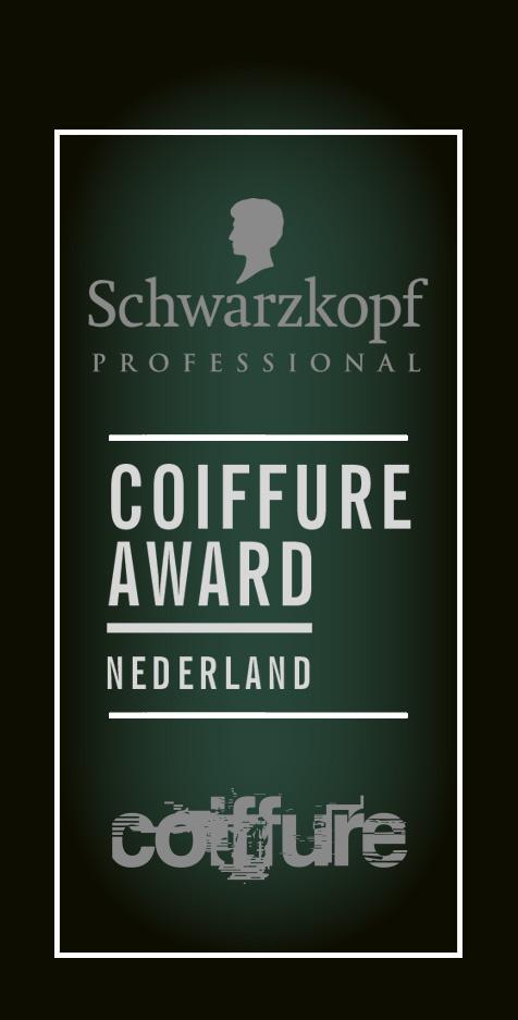 Coiffure award Nederland nominee 2019